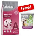 14kg Briantos Dry Dog Food + 100g Briantos FitBites Free!*
