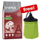 14kg Briantos Dry Dog Food + Reflective Snack Bag Free!*