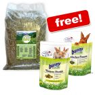 3kg Bunny Fresh Grass Hay + Rabbit Food Bundle Free!*