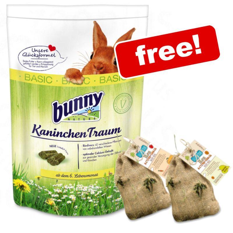 4kg Bunny RabbitDream + Bunny Hay Active Snack Set Free!*