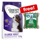 12kg Concept for Life Dry Dog Food + Barkoo Filled Chew Bones Free!*