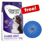 12kg Concept for Life Dry Dog Food + LED Frisbee Free!*