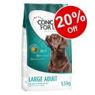 1.5kg Concept for Life Trial Packs - 20% Off!*