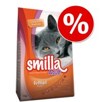 1kg + 200g Free! Birthday Edition Smilla Adult Poultry