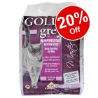 14kg Golden Grey Master / White Cat Litter - 20% Off!*