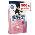 3,5 + 0,5 kg gratis! Happy Cat Supreme Junior eller Kitten