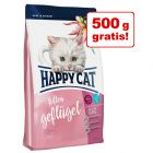 3,5 + 0,5 kg gratis! 4 kg Happy Cat Supreme Kitten / Junior