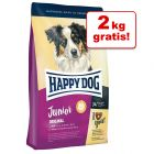 8 + 2 kg gratis! 10 kg Happy Dog Supreme Young