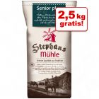 2,5 kg gratis! 25 kg Stephans Mühle Senior plus