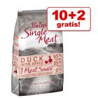 10 + 2 kg gratis! Purizon Single Meat karma sucha dla psa, 12 kg