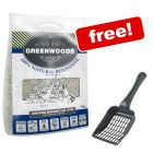 6kg Greenwoods Natural Clay Cat Litter with Zeolite + Litter Scoop Free!*