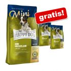 4 kg Happy Dog Supreme Mini + 2 x 300 g Happy Dog gratis