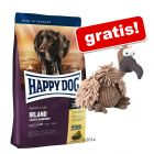 12,5 kg Happy Dog Supreme + Plüsch-Geier gratis!