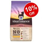 1.5kg Hill's Ideal Balance No-Grain Feline - 10% Off!*