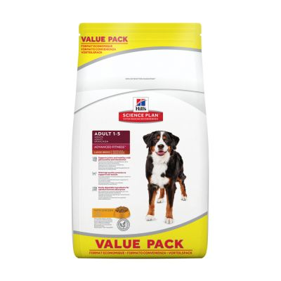 18 kg Hill's Science Plan Adult 1-5 Advanced Fitness Large Breed Med Kylling
