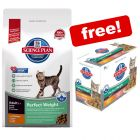 8kg Hill's Science Plan Feline + 12 x 85g Pouches Free!*