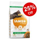 3kg IAMS for Vitality Dry Cat Food - 25% Off!*