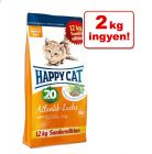 10 + 2 kg ingyen! 12 kg Happy Cat Supreme Sterilised atlanti-óceáni lazac