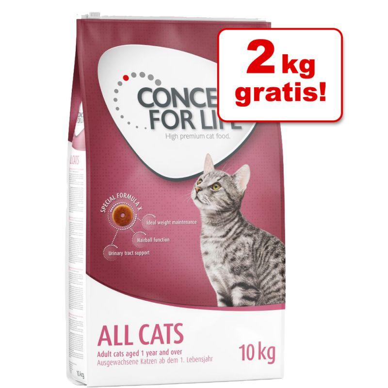 7 /8 kg + 2 kg på köpet! Stor Concept for Life torrfoder