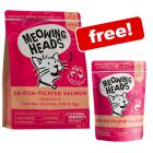 4kg Meowing Heads Dry Cat Food + 10 x 100g Meowing Heads Wet Food Free!*