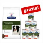 12 kg Metabolic Weight Management + 6 x 370 g Metabolic Weight Managment våtfòr gratis!