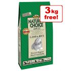 15kg Nutro Natural Choice Dry Dog Food - 12kg + 3kg Free!*