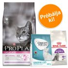 1,5 kg Pro Plan Delicate + 400g Royal Canin Sensible, Concept for Life