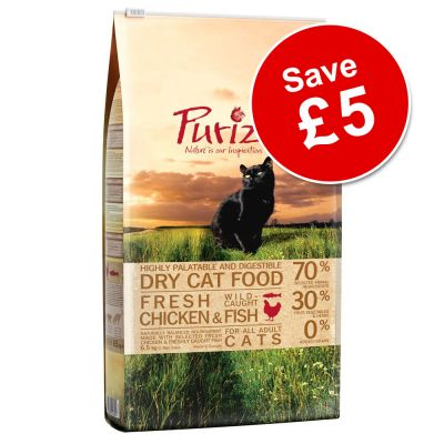 6.5kg Purizon Dry Cat Food - £5 Off!*