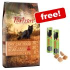 6.5kg Purizon Dry Cat Food + 2 x 21g Cosma Snackies Salmon Free!*