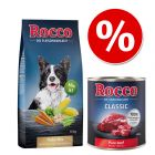 10 kg Rocco Μείγμα Νιφάδων + 6 x 400g ή 800g Rocco Classic