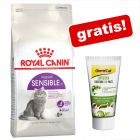 10 kg Royal Canin + GimCat Superfood Digestion Duo-postei gratis!