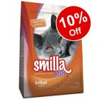 4kg Smilla Dry Cat Food - 10% Off!*