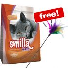 10kg Smilla Dry Cat Food + Feather Waggler Cat Toy Free!*
