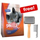4kg Smilla Dry Cat Food + Trixie Soft Brush Free!*