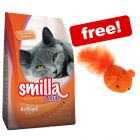 10kg Smilla Dry Cat Food + Woolly Mouse Cat Toy Free!*