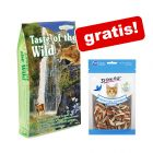 7 kg Taste of the Wild + Dokas kattesnacks gratis!
