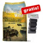 13 kg Taste of the Wild + hundeposer!