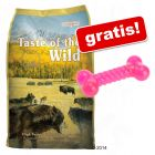 13 kg Taste of the Wild + TPR tyggebein gratis!