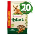 1.8kg Versele Laga Nature Birthday Edition Small Pet Food + 500g Free!*