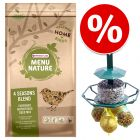 4 kg Versele-Laga Menu Nature 4 Seasons + Premium Feeder erikoishintaan!