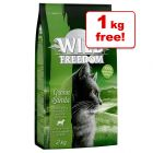3kg Wild Freedom Adult Dry Cat Food + 1kg Free!*