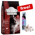 2kg Wild Freedom Dry Food + Cosma Snackies DUO - Chicken & Shrimps Free!*
