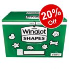 15kg Winalot Shapes Dog Biscuits - 20% Off!*