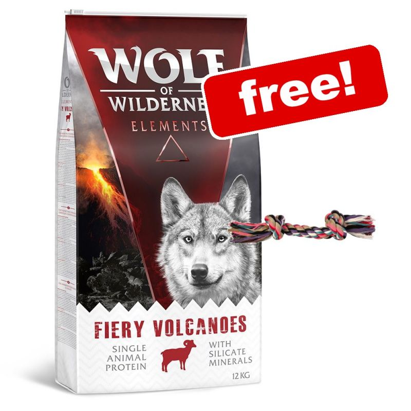 1kg Wolf of Wilderness Dry Dog Food + Trixie Denta Fun Playing Rope Free!*