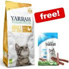 2.4kg Yarrah Organic Cat Food + 15g Yarrah Chew Sticks Free!*