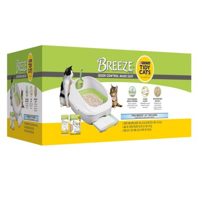 Kit Purina Tidy Cats Breeze pour chat