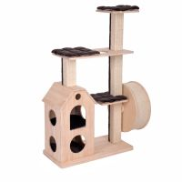 Kitty's Playhouse Scratching Tree