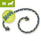 KONG SqueakAir Ball with Rope - M/L