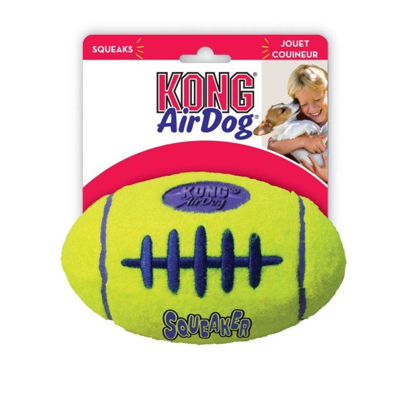 KONG AirDog American Football with Squeaker