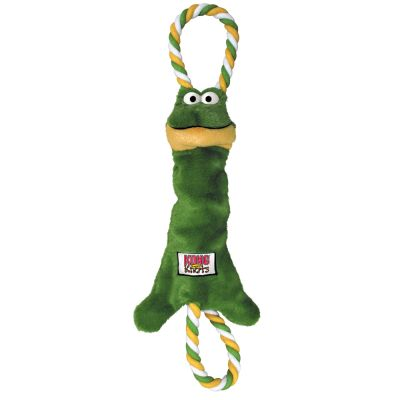 e82e5c1aaadd KONG Tugger Knots Frog | Top deals at zooplus!